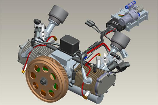 Efficient power generation for UAV and portable power NWUAV
