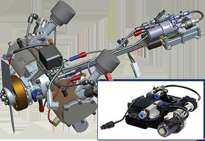 RCV Rotary 4-Stroke Engines for UAVs   Northwest UAV